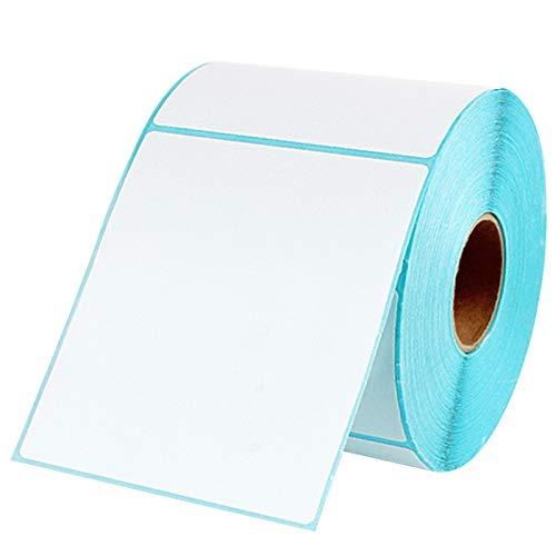 Moligh doll DREI Verteidigung Thermo Etiketten Papier Thermo Aufkleber Papier Für Thermo Drucker (500 Fotos) 100 x 80Mm - Thermo Foto Drucker