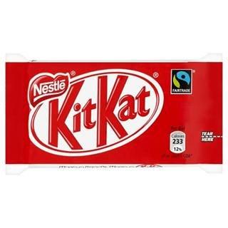 Kit Kat 4 Finger Fair Trade 45G x Case of 48