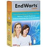 EndWarts Lösung Spar-Set 2x3ml: Effektives Warzenmittel zur Entfernung von Warzen an Händen und Füßen, trocknet Warzen wirksam aus