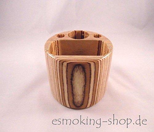 Preisvergleich Produktbild Autohalter Holz - für e-Zigaretten - Box & Akkuträger - E-Zigarettenhalter