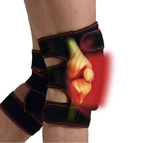ZG-HX KnieschüTzer Elektrische Heizungs MassagegeräT Brace Gel Pack FüR HeißE Und Kalte Therapie FüR Meniskusrisse Golf Wiederverwendbare Und Mehrzweck -