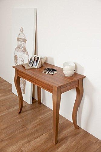 Group design consolle olanda allungabile noce tavolo da pranzo ingresso cucina 14 posti ry-co/014-n-90