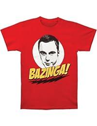 Big Bang Theory Sheldon Bazinga! Men's T-Shirt