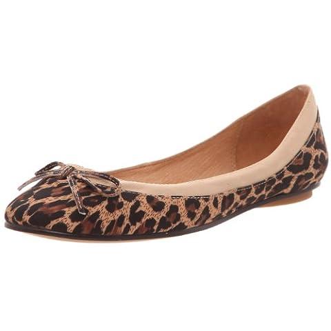 Buffalo 207 3562 Leopard, Ballerines femme, Multicolore (Tan 56), 39 EU (6.5 UK)