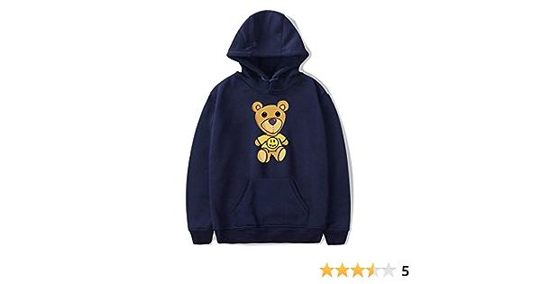 2020 Nouveau Justin Bieber Drew House Teddy Bear Imprim/é Hoodies Sweat-shirts pour hommes et femmes Polyester Pull Unisexe Surv/êtement