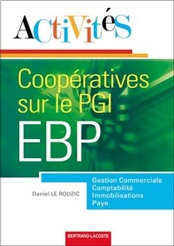 Activités coopératives sur le PGI EBP par Daniel Le Rouzic
