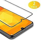 BANNIO für Panzerglas für Huawei Honor 20 lite / Huawei P Smart 2019 / Huawei Honor 10 Lite [2 Stück] 3D Full Sreen Panzerglasfolie Schutzfolie ,9H Härte,Vollständige Abdeckung,Schwarz