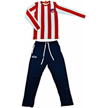 Atletico de Madrid AM03031 - Pijama, Rojo/Azul, M