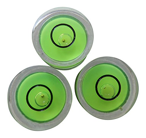 3x-niveaux-a-bulle-dair-avec-guide-a-bille-en-metal-vert-rond-bulls-eye-fiole-circulaire-avec-bille-