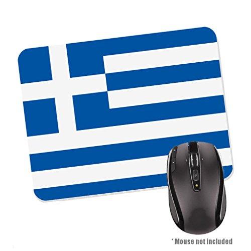 Preisvergleich Produktbild Griechenland Flagge Gummi Boden Mauspad