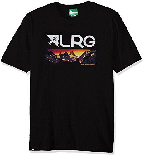 Mothr lnd Nightscape T-Shirt ash heather Schwarz