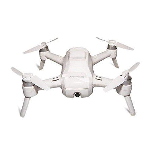 Yuneec Breeze - Cuadricóptero Compacto con cámara Premium 4K UHD (24 cm de diámetro, función de vídeo, 13 Mpx, Controlador y 2 baterías), Color Blanco