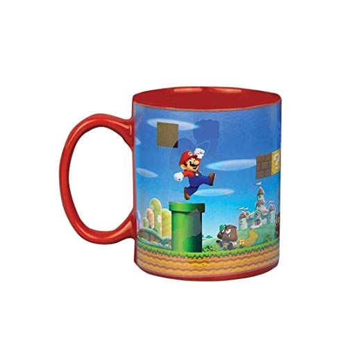 Flashpoint 509560 Super Mario Farbwechsel Becher (Super Mario Mushroom Red)