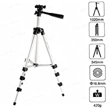 CP BIGBASKET 3110 Portable & Foldable Camera Mobile Tripod with Clip Holder Bracket Fully Flexible Mount Stand with 3-D Release Plate