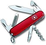 Victorinox Taschenmesser Sportsman (13 Funktionen, Gr. Klinge, Korkenzieher, Nagelfeile)