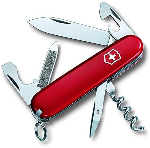Victorinox V03803.B1 Couteau Suisse Mixte Adulte, Rouge