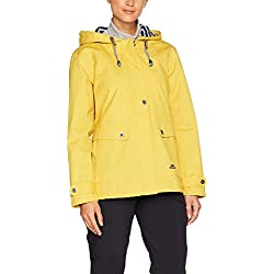 Trespass Seawater Chaqueta Impermeable Para Mujer Color Amarillo Tamaño Medium