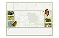 A3 British Wildlife Desk Pad