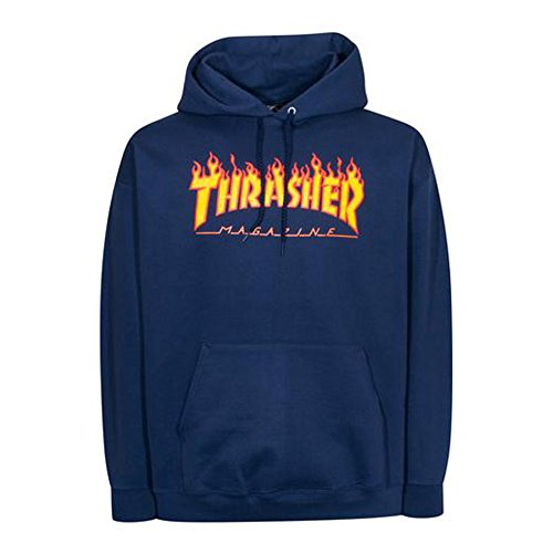 0ae87199d59d thrasher skateboard magazine hoodies. Thrasher Pull à Capuche pour Homme -  Bleu - Medium