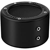 MINIRIG MINI Portable Rechargeable Bluetooth Speaker - 30 Hour Battery - Premium Stereo Sound - Black