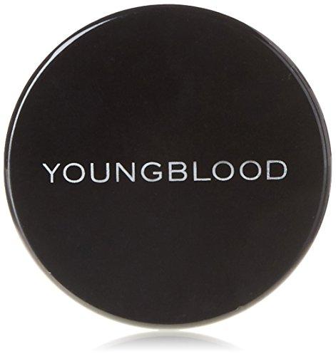 Youngblood, Cipria minerale in polvere di riso, Dark, 10 g