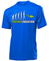 Sport - TAUCHER EVOLUTION - Cooles Fun T-Shirt Herren S-XXL