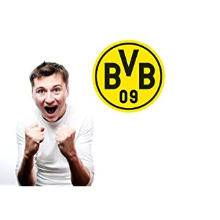 Wall Tattoo Borussia Dortmund Logo 20 x 20 CM