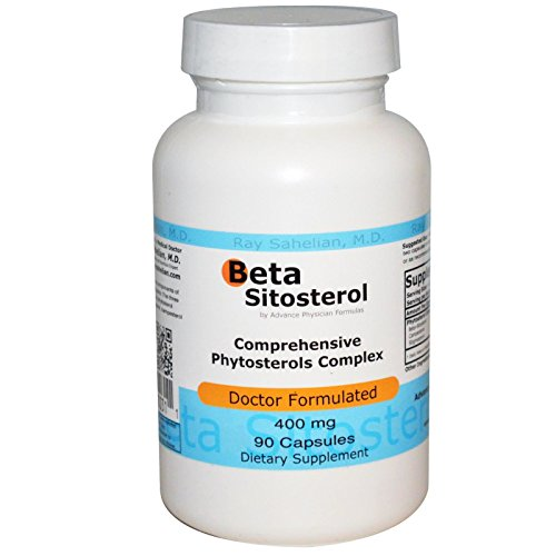 Inc., Beta Sitosterol, 400 mg, 90 Capsules - Advance Physician Formulas - Qty 1 -