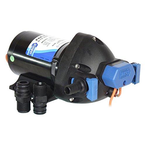 Jabsco betriebenen 31395-0294Marine ParMax 2,9Wasser System Pumpe (2.9-gpm, 25-psi, 24Volt) -