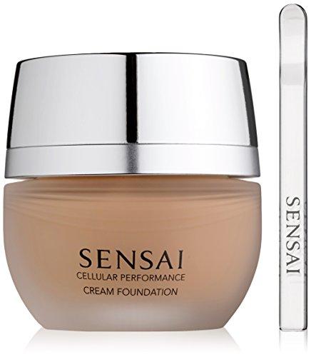 Sensai Cellular Performance femme/woman, Cream Foundation Nr. CF24 Amber beige, 1er Pack (1 x 30 ml)