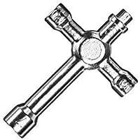 Llave de tuerca de la rueda 1:10 M5 5.5 7 partCore Nitromotoren # 300016