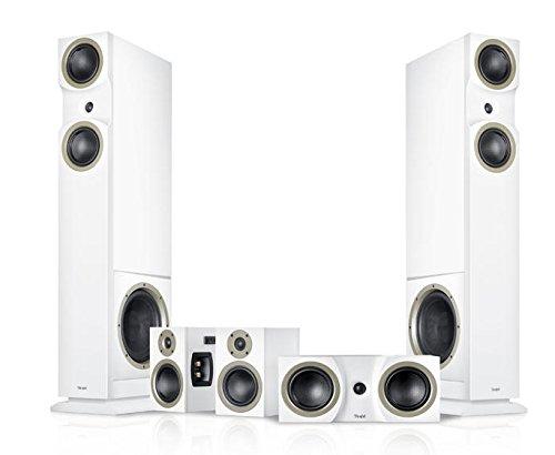 Teufel Theater 6 Hybrid 5.2 5.1Kanäle Weiß Lautsprecherset - Lautsprechersets (5.1 Kanäle, Heimkino, AV-Receiver, D, 30 W, 3-Wege)