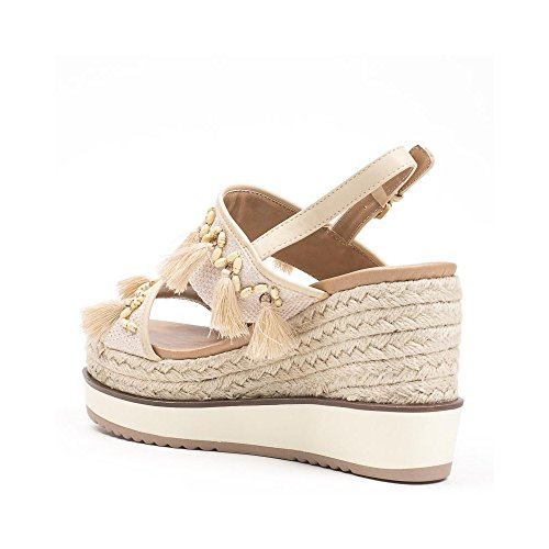 Ideal Shoes , Sandali donna, beige (beige), 41 EU