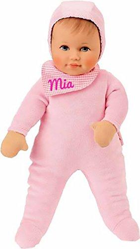 Preisvergleich Produktbild Käthe Kruse 26501 - Baby Puppe Milena mit Namen Beschriftung