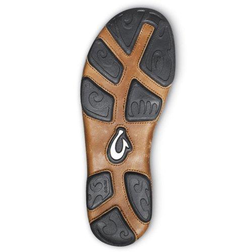 OluKai Dansko Mens Professional Clog Storm Gray/Dark Wood