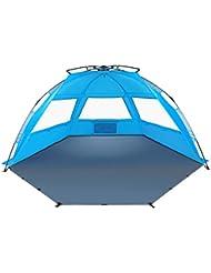 Tagvo Pop Up Beach Tent Sun Shelter Fácil de Instalar Tear Down, Portable Canopy
