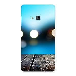 Neo World Bokeh Image Back Case Cover for Lumia 540
