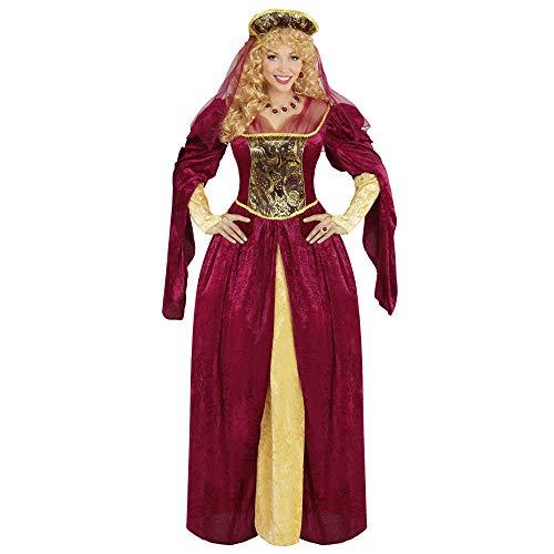 Widmann 05594 - Erwachsenenkostüm Royal Queen, Kleid und Kopfbedeckung mit - Königliche Hoheit Kostüm