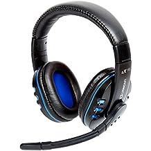 """Lioncast LX16 Evo Auriculares de Gaming de Diadema auricular con micrófono (Alámbrico, 3.5 mm (1/8 """"), PC/Juegos, Supraaural, 20 - 18000 Hz, Binaurale)"""
