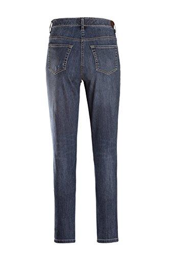 Stehmann Jeans Sissi - viele Farben - Pull-on, Innenbeinlänge 78 cm Schwarz-rodeo