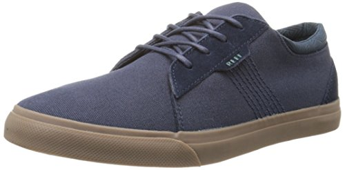 Reef Men's Ridge Fashion Sneaker, Navy/Gum, 8 M US