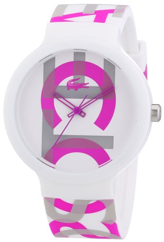 Lacoste Unisex Quartz Watch with Black Dial Analogue Display Quartz Silicone 2020064