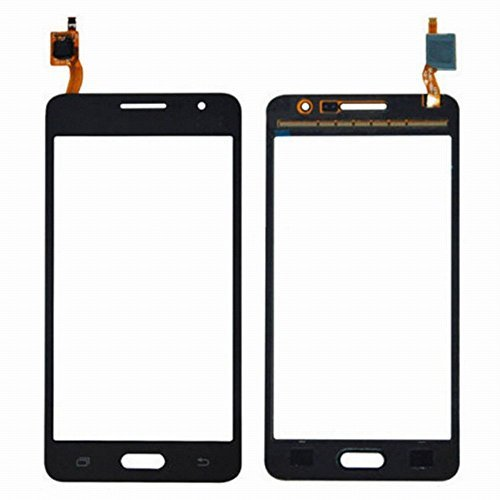 WeDone para Samsung Galaxy Grand Prime SM-G531F G531 Pantalla Táctil Digitalizador Vidrio(Sin LCD) Reemplazo y Herramientas (Negro)
