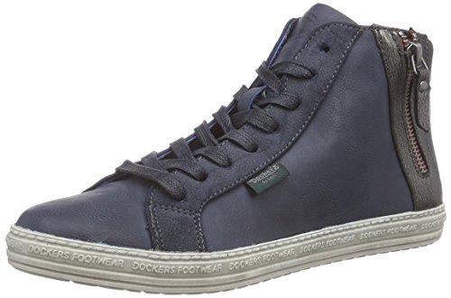 Dockers 32LN213, Sneaker alta donna, Blu (Blau (blau 600)), 39