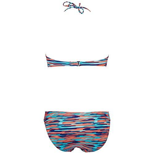 Chiemsee Damen Bikini Zebony Stripe Of Light