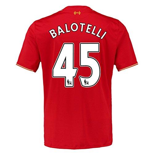 2015-16 Liverpool Home Shirt (Balotelli 45) - Kids