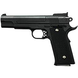 rayline Pistolet Airsoft Softair G20 Full Metal (Pression de Ressort Manuelle), Échelle 1: 1, Poids 660g, Longueur 19.5cm, (Moins de 0.5 Joule - à partir de 14 Ans)