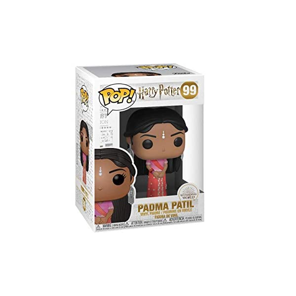 Funko Pop Padma Patil Baile de Navidad (Harry Potter 99) Funko Pop Harry Potter