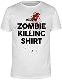 FabTee This Is My Zombie Killing Shirt - Men T-Shirt - Size S-3XL