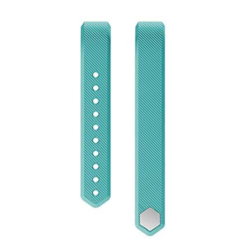 Sguan-wu Silikon Ersatz Smart Armband Band Handschlaufe für Veryfit ID115 ID115Plus - für Veryfit ID115 Cyan